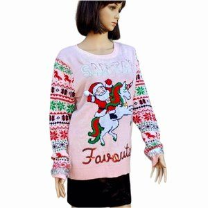 XXL Ugly Christmas Sweater Women, Funny Sweater